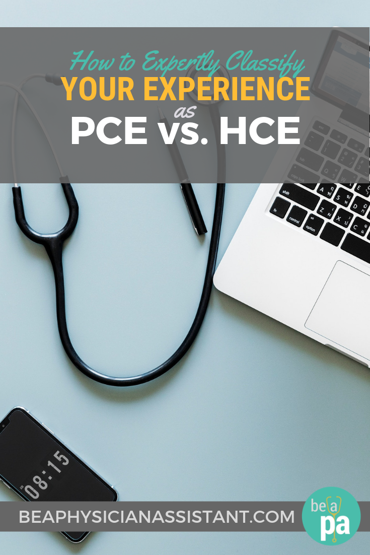 Difference Between PCE vs. HCE for PA SchoollBe a Physician Assistant