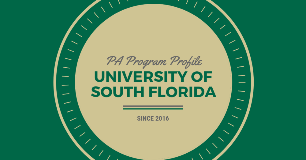 PA Program Profile: University of South FloridalBe a Physician Assistant