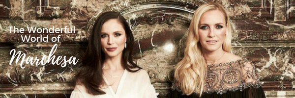 Georgina Chapman (left) and Keren Craig (right): Image:  Marchesa