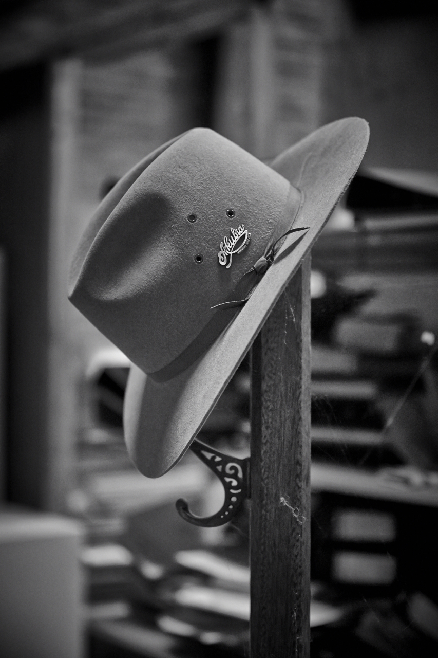 e3904f4ce9b The classically Australian Akubra fur-felt hat. Pic  Sam Grant