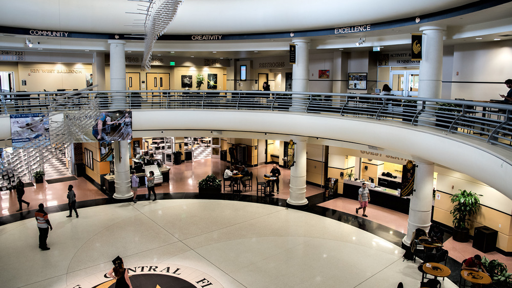 Inside view- UCF student Union