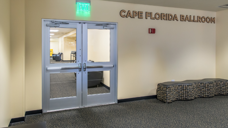Cape Florida Ballroom, 3rd Floor, Student Union building located on UCF's main campus.