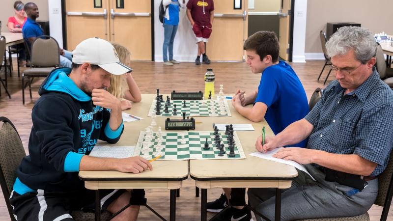 Arnold Banner (Q 1674-P18) (L) vs Yevgeney Postrehkin (Q: 1802) (R), Round 4, July 30, 2016 OCG Quick Tournament