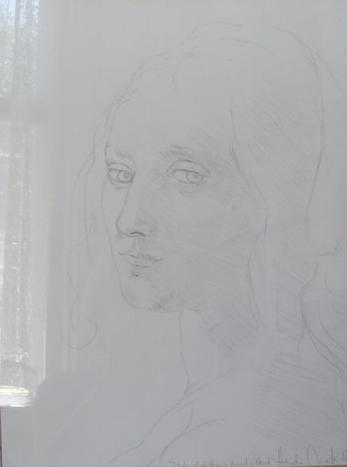 Study of da Vinci's Angel