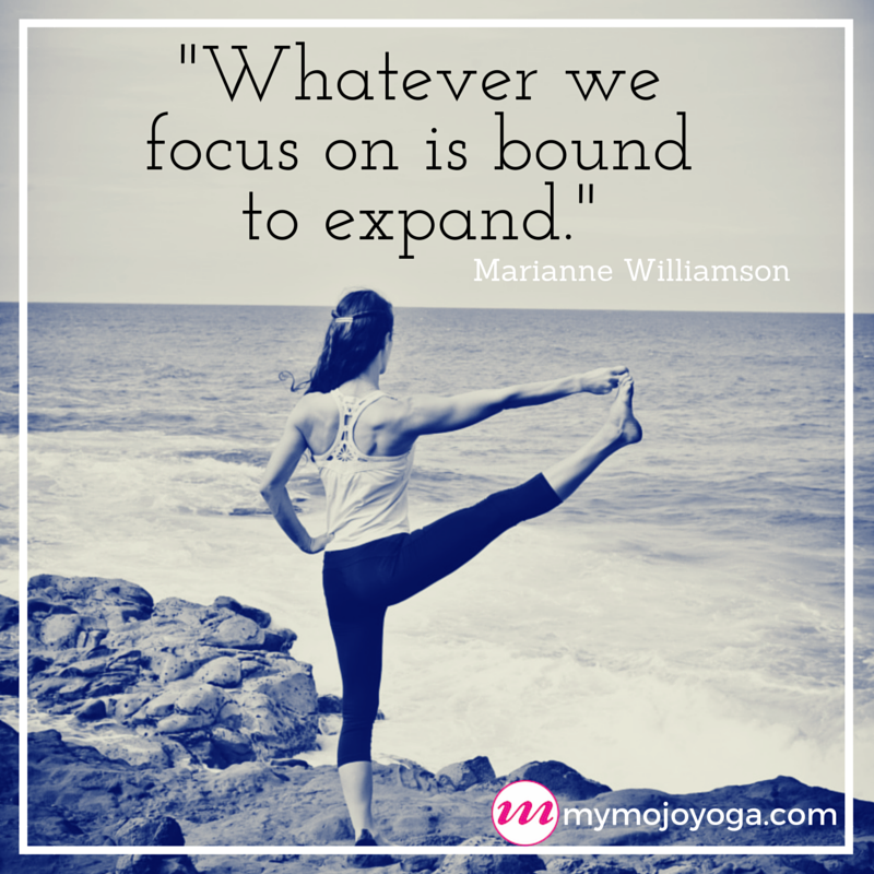 %22Whatever we focus on is bound to