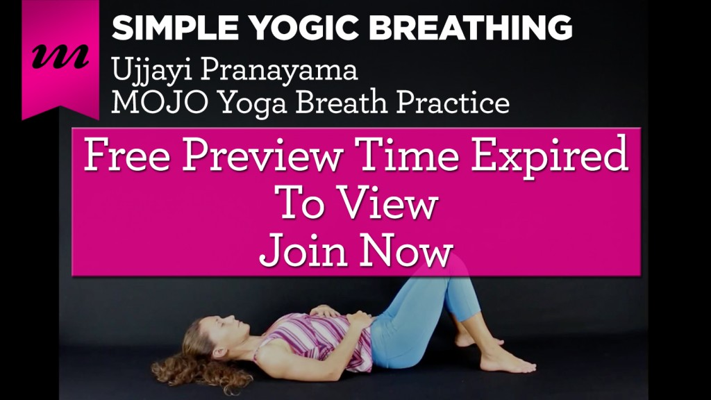 Time Expired - Simple Yogic Breathing