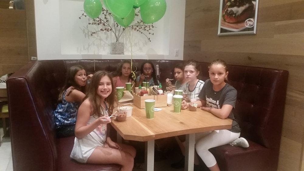 Birthday's and Burgers!