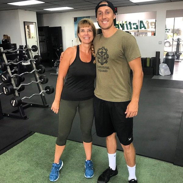 Twinning! @shayn3t & @derubino ! Shayne is our newest trainer at Get Active! He loves pushing clients to their limits and helping them accomplish any fitness goal they may have! Come stop by and check us out! See you soon!!! 😎💪🏼. . . . #happyclients #awesometrainers #cleangym #fitnessgoals #humpday #goals #newportbeach #training #oc #orangecounty