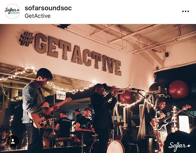 That one time the gym turned into a music venue! Thanks @sofarsoundsoc for the great show ! Happy we could be apart of it.  #newportbeach #getactivegym #sofarsounds #sofaroc #livemusic