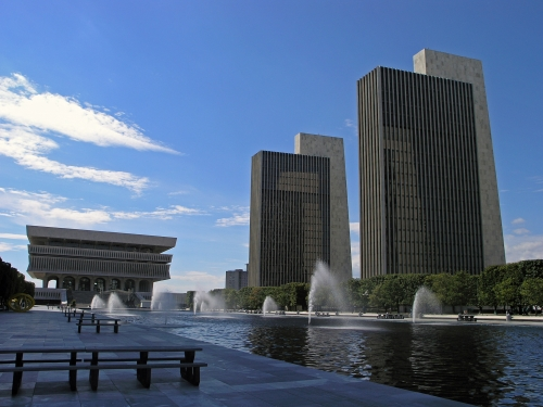 EMPIRE STATE PLAZA - ALBANY
