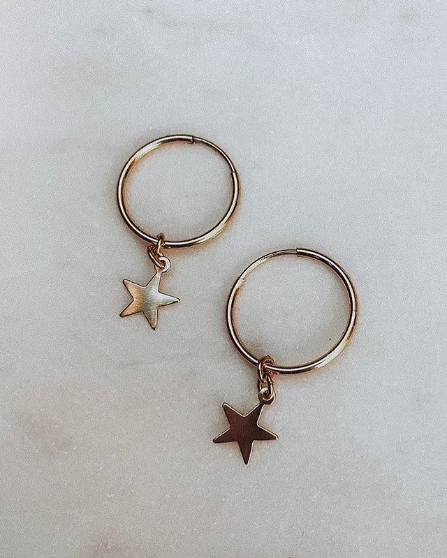 Gold details + stars... a few of our favourite things. Perfect to pair with our coming pieces.