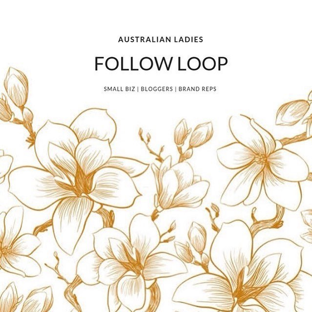 🍂✨ AUSTRALIAN LOOP ✨🍂 Hi Australian ladies! If you're an Australian blogger, influencer, brand rep, or small biz owner, join us - it's FREE!  1. Follow admin then DM to join: @little.wrens @auburn.designs @these_little_darlings 2.Search for #loveausapril 3.Follow accounts! The more you follow, the more will follow you. Don't follow loop cheats. 4.Comment 🍂 on everyone you follow - or they won't follow back. 5.Admin will give you the pic and text to share on your page - don't tag personal photos. 💔Respect the group - don't use repost app or our tag on your photos without joining. Don't add extra tags or run our loop with non-Australian loops - this attracts spam and we have child accounts in our loop.💔 Admin are exempt from rules - we try to keep up with follows but we're busy running the loop!  This loop will run Friday 5pm AEST to Sunday 5pm AEST. DM to join any time. . . . #ausmum #australianhandmade #australiansmallbiz #australianblogger #australianbrandreps