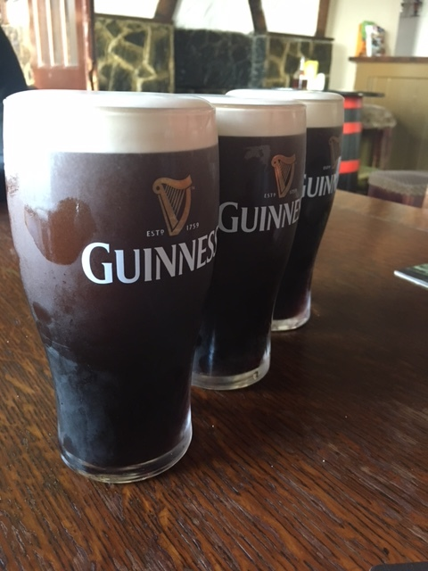 When in Ireland...