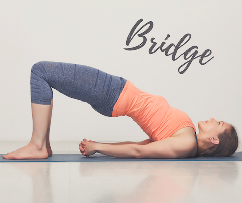 Bridge yoga asana