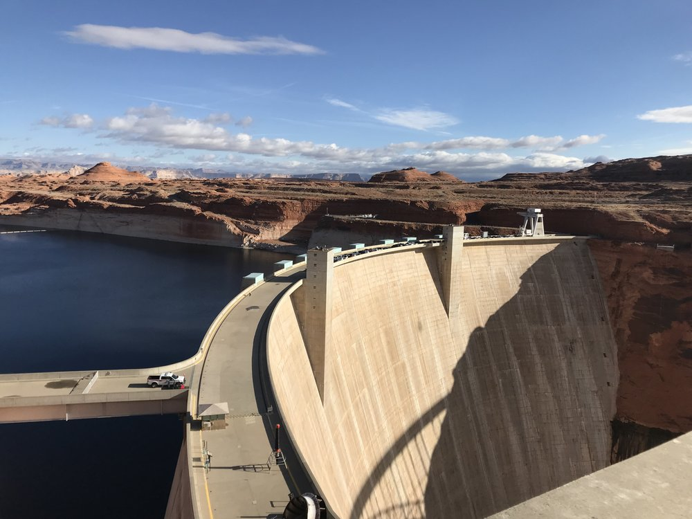 Glenn Canyon Dam.