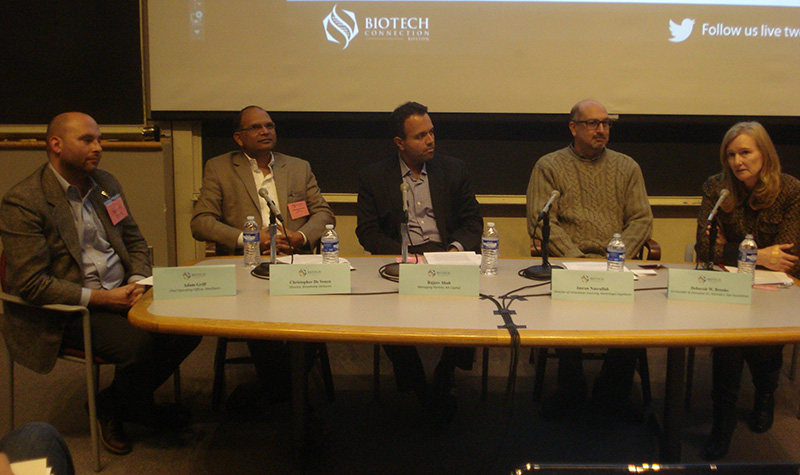 Panelists (left to right): Adam Griff, Christopher DeSouza, Rajeev Shah, Imran Nasrullah, Deborah Brooks.