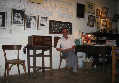Law Siak Hoong at Sybil's Clinic at Papan, Perak, Malaysia - 2009