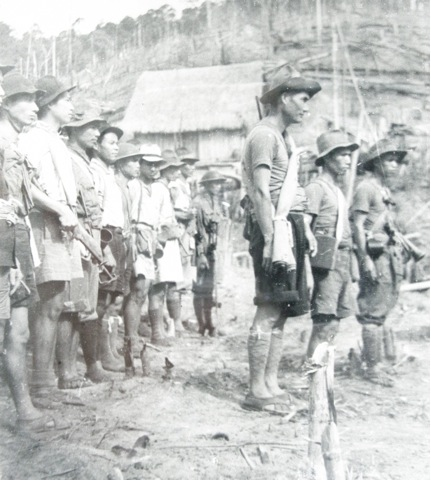 OCAJA detachment preparing to occupy Betong