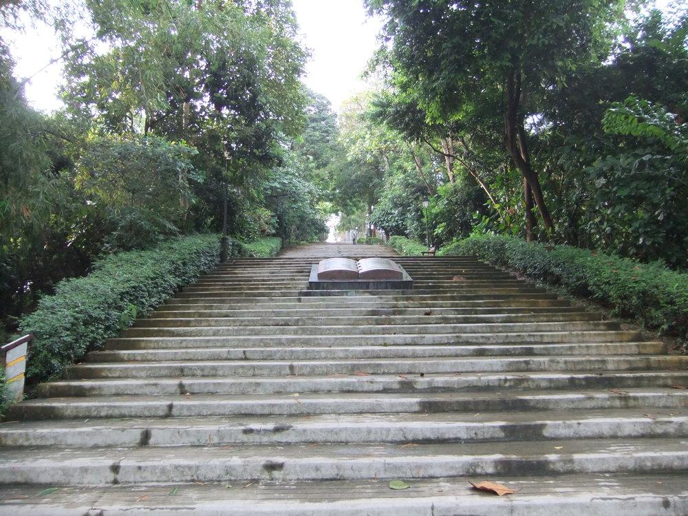 Former site of Syonan Chureito, Bukit Batok Nature Park