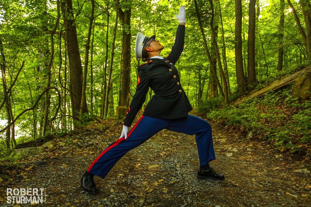 Pictured here: Sergeant Brianna Renner.
