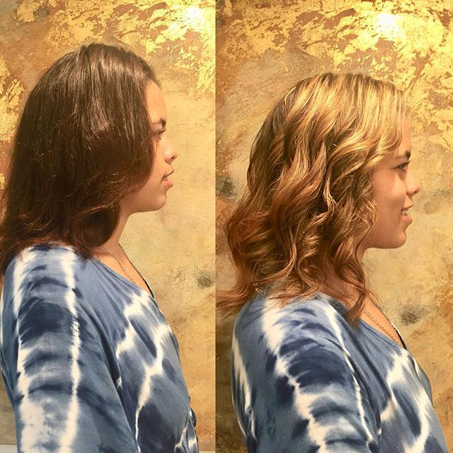 Golden girl ✨  Color • Style @marisacedeno . . . #beautybarmaui #highlights #hairgoals #hairinspo #hawaiihair #hawaiisalon #balayage #balayagehighlights