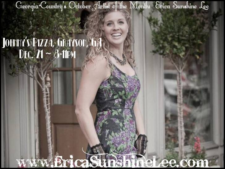 DEC. 21 at Johnny's PIzza in Grayson, Georgia :) 8-11pm