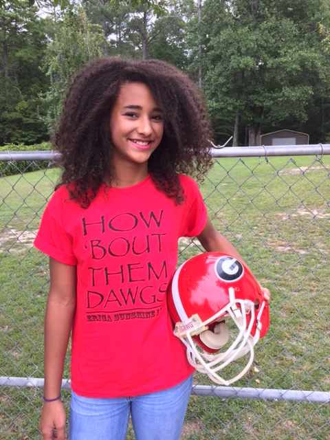How bout them dawgs tee Olivia.JPG