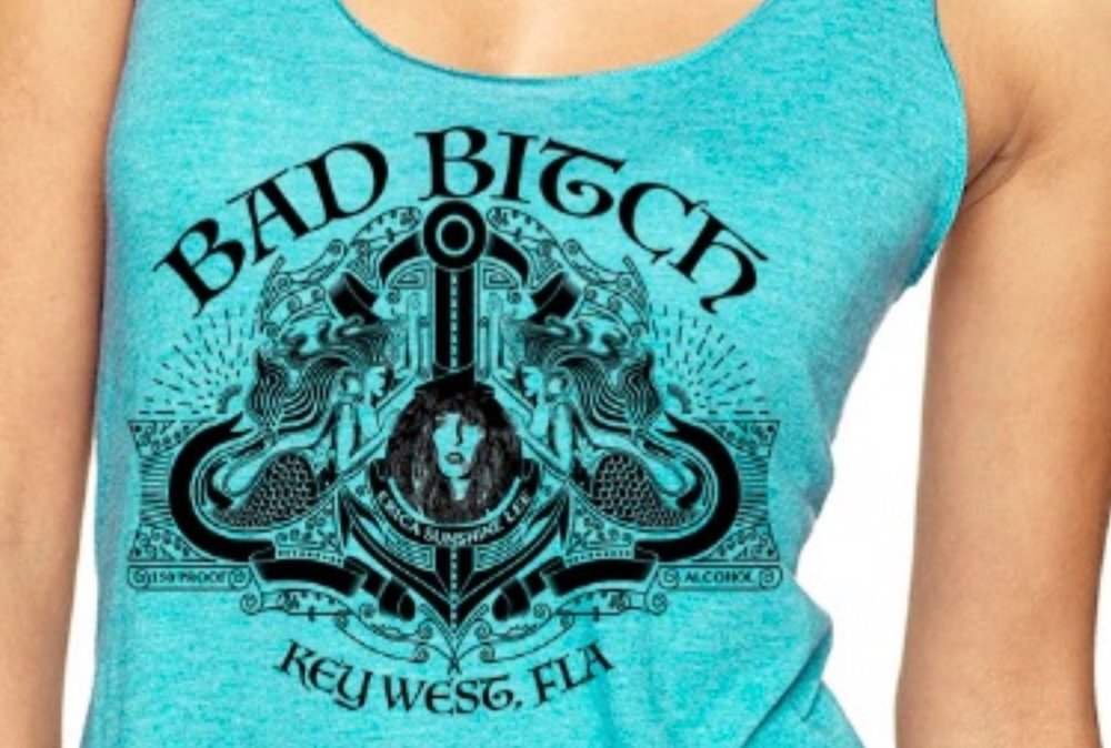 BAD BITCH TANKS - BAD BITCH TEESAvailable in women's Small, Medium, Large, XL, and XXL$20 plus shipping
