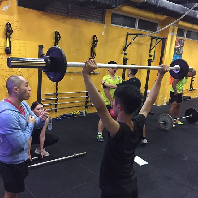 Effective Coaching delivered daily, in every class! Not just a gym, not just a fitness program, but a community of people that might not know each other but still helps one another to push through obstacles! . . Inspired Through Fitness . . . #crossfit #crossfitmacau #crossfitmacao #macaucrossfit #macaocrossfit #gym #crossfitters #lifting #wod #weight #workout #crazy #muscles #hardwork #fitfam #igfitness #beautiful #health #enjoy #love #nutrition #hardwork #live #addicted  #fit #fitness #family #fitfam #macau #community