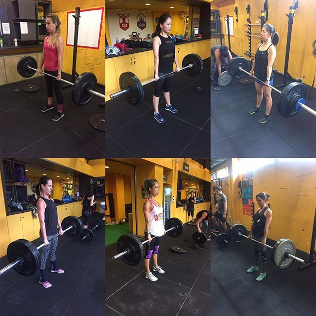 Our beautiful strong ladies doing some work this AM! . . Inspired Through Fitness . . . #crossfit #crossfitmacau #crossfitmacao #macaucrossfit #macaocrossfit #gym #crossfitters #lifting #wod #weight #workout #crazy #muscles #hardwork #fitfam #igfitness #beautiful #health #enjoy #love #nutrition #hardwork #live #addicted  #fit #fitness #family #fitfam #macau #community