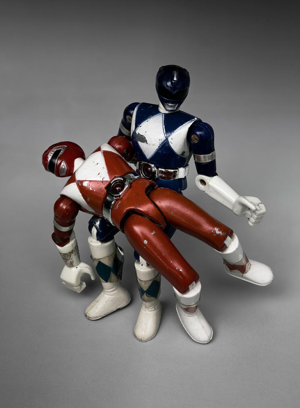 «Pietà» Power Ranger nach Michelangelo