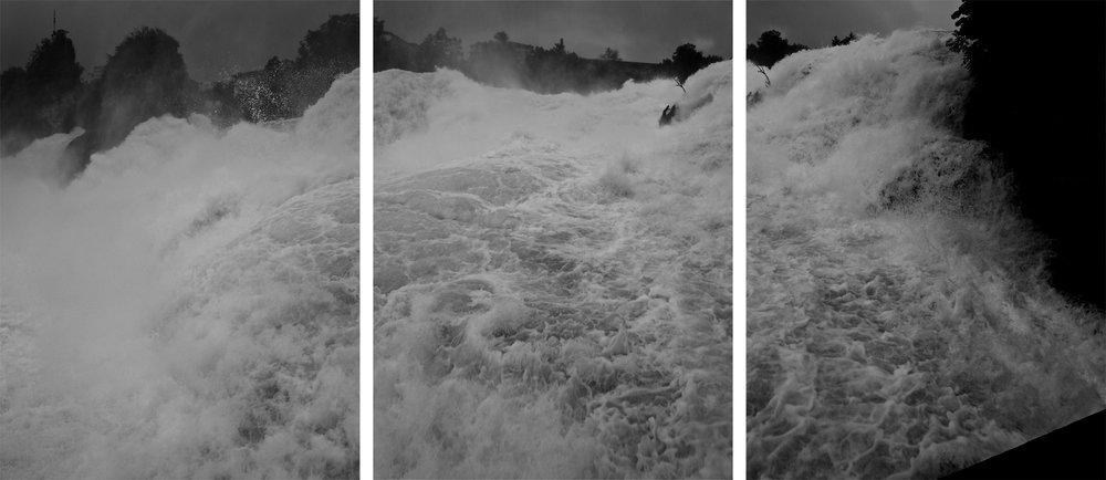 """""""Rheinfall"""" Triptychon (2004)"""