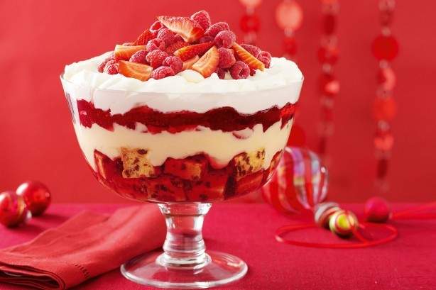Christmas in July Trifle
