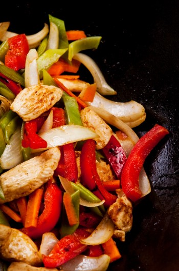 Chicken Pepper Stir Fry