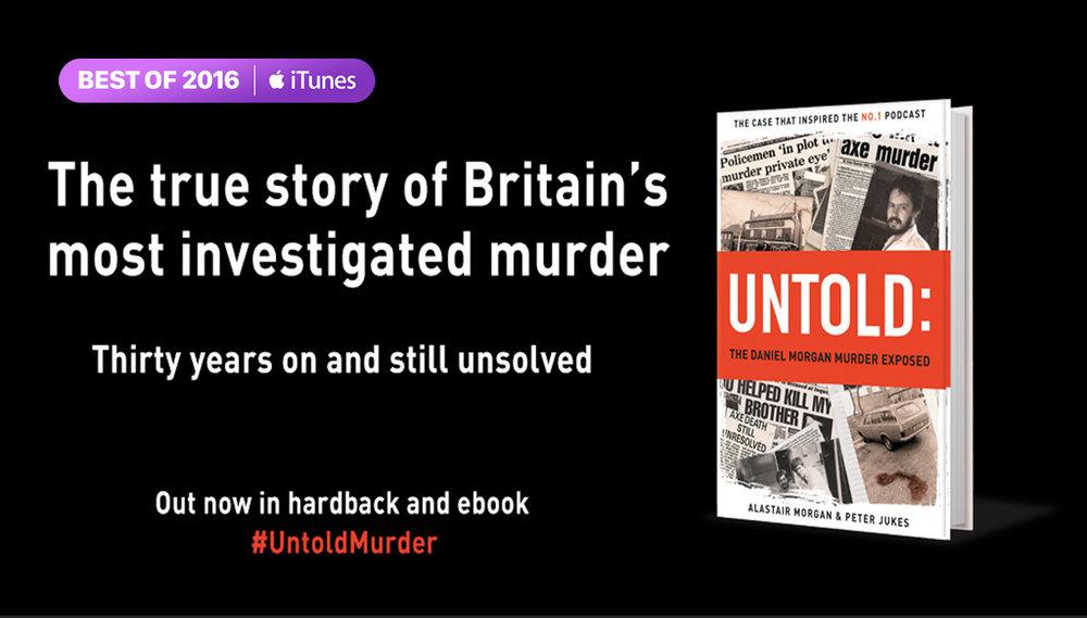 LISTEN — UNTOLD: The Daniel Morgan Murder