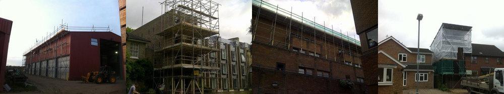 Scaffolding in Watford