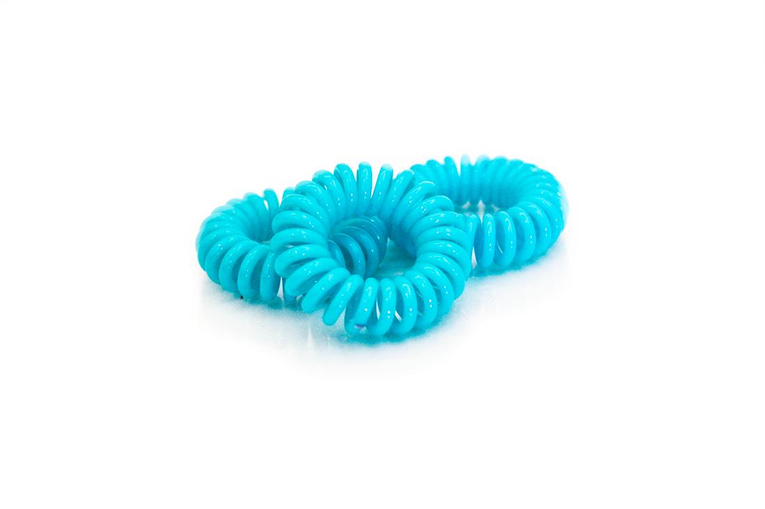 BLUE Zero Crease Hair Tie — Hairon 302de3ca359