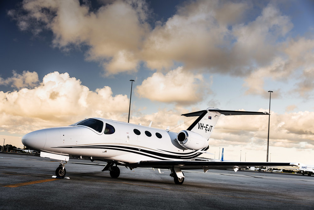 Private Jet - Travel to the Margaret River wine region in ultimate style and comfort in less than 30 minutes aboard a private jet from Perth Airport.