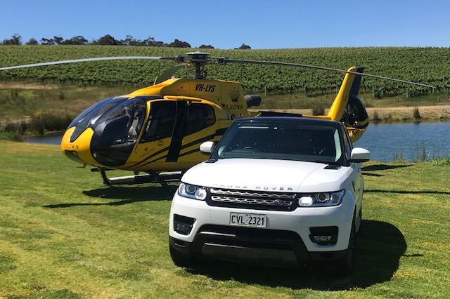 Helicopter Journeys - Fly to the beautiful south-west by helicopter, landing directly at your favourite winery and experience the best scenery of the Margaret River region.