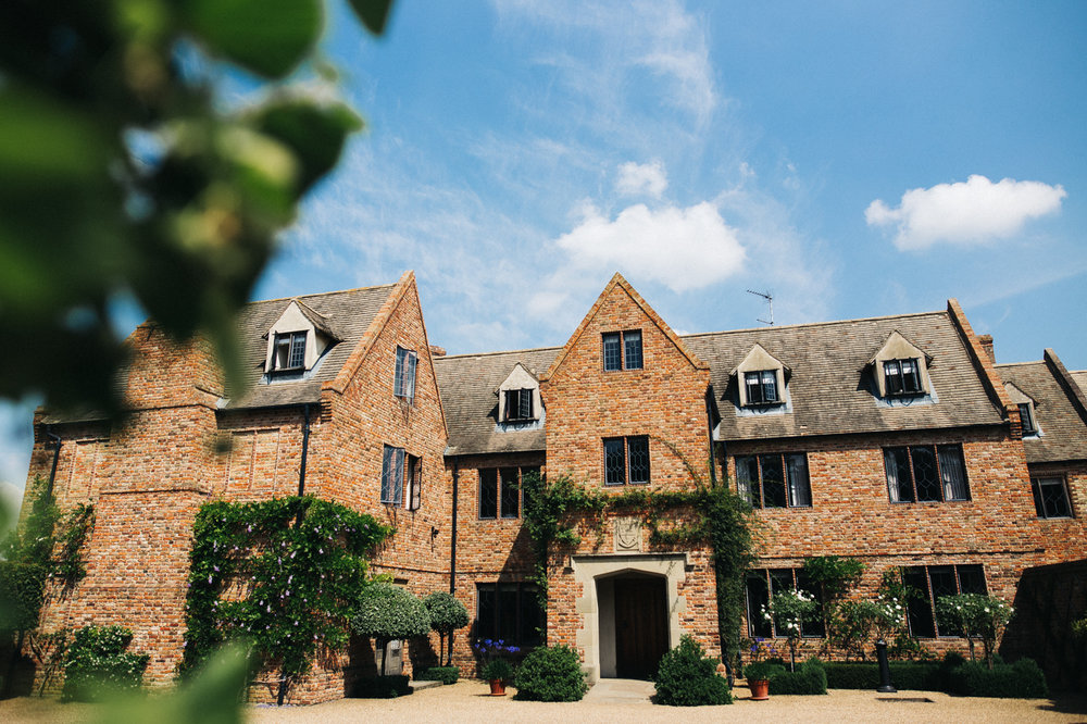 a shot of the venue. the old hall at ely wedding, cambridge. stop motion wedding films uk