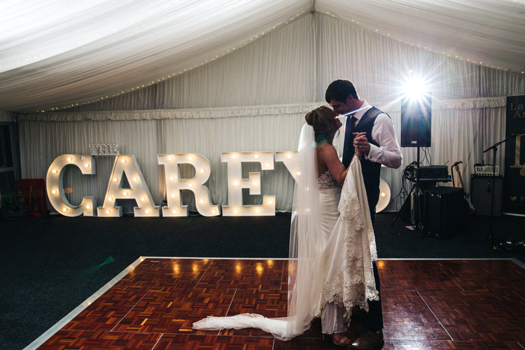 a bride and groom's first dance. ormesby hall wedding middlesbrough teesside wedding photography and stop motion wedding films uk