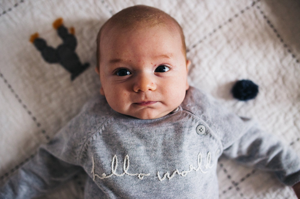 a close up shot of a baby boy. creative and relaxed family photography at home teesside middlesbrough stockton north east north yorkshire. stop motion wedding films uk