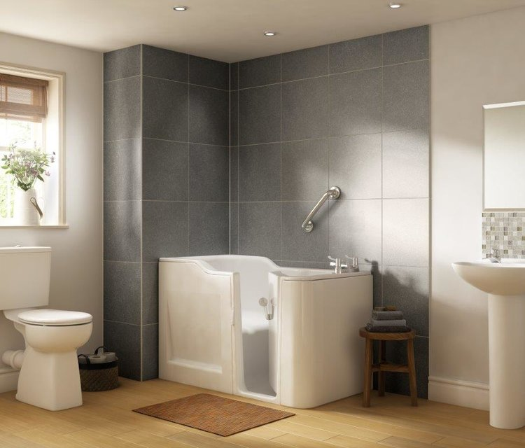Bathrooms - Easy Level Access Showers, Walk in Baths — Mobility Shop ...