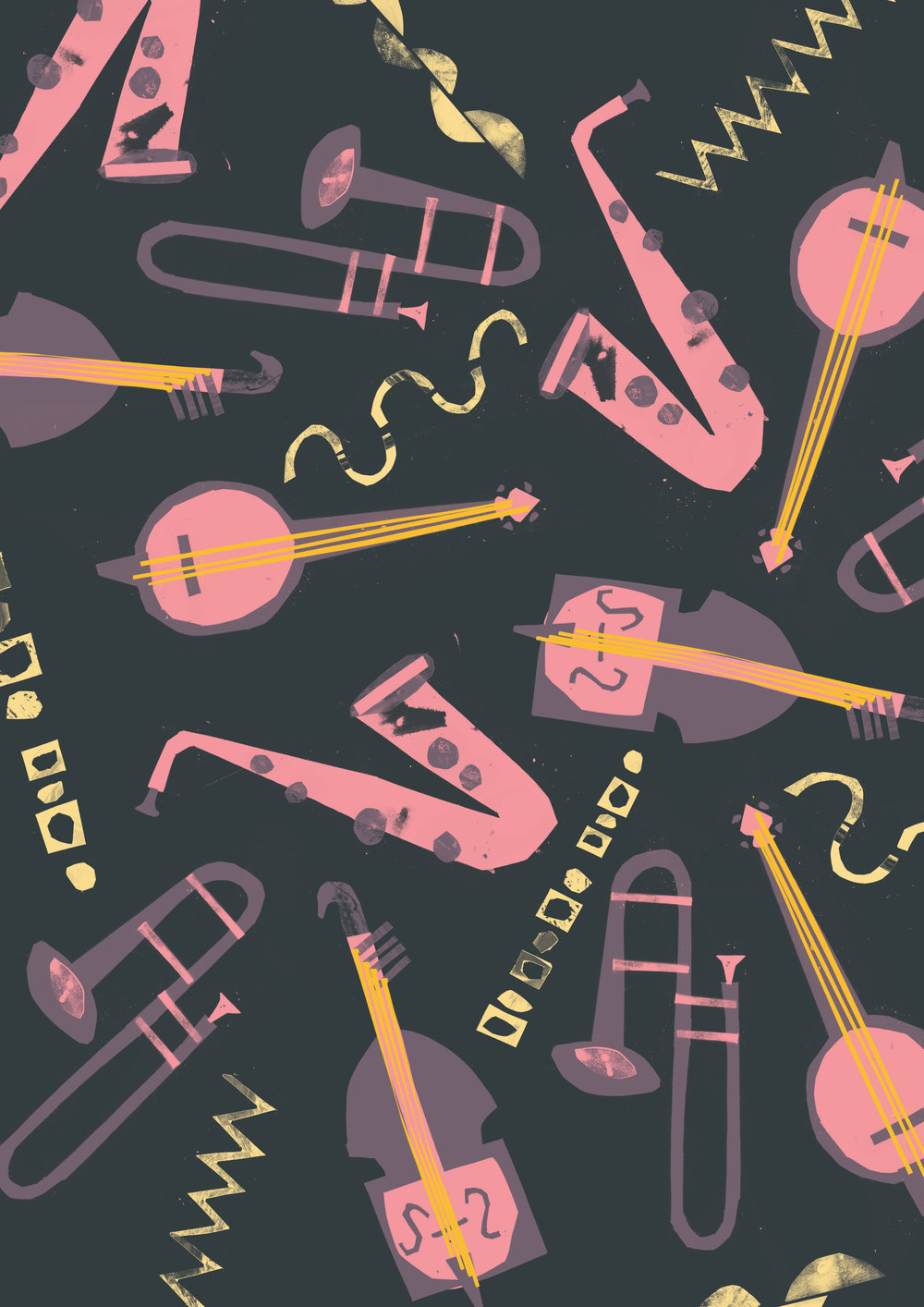 'Jazz Club Pattern'