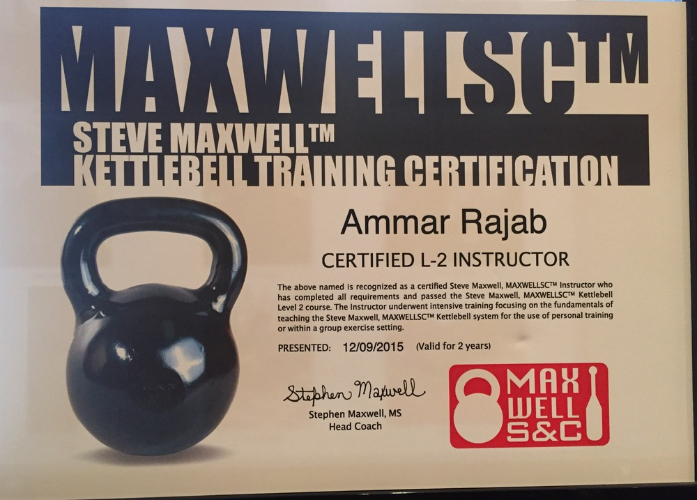 Kettler Bell Level 2 Certification