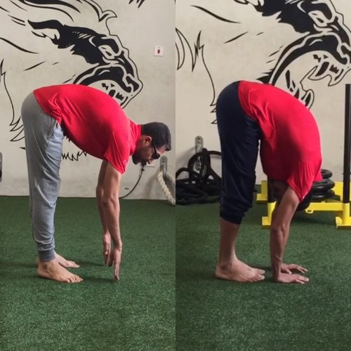 In 6 weeks Ali improved his over all posterior chain mobility and became very comfortable in reaching his toe touch