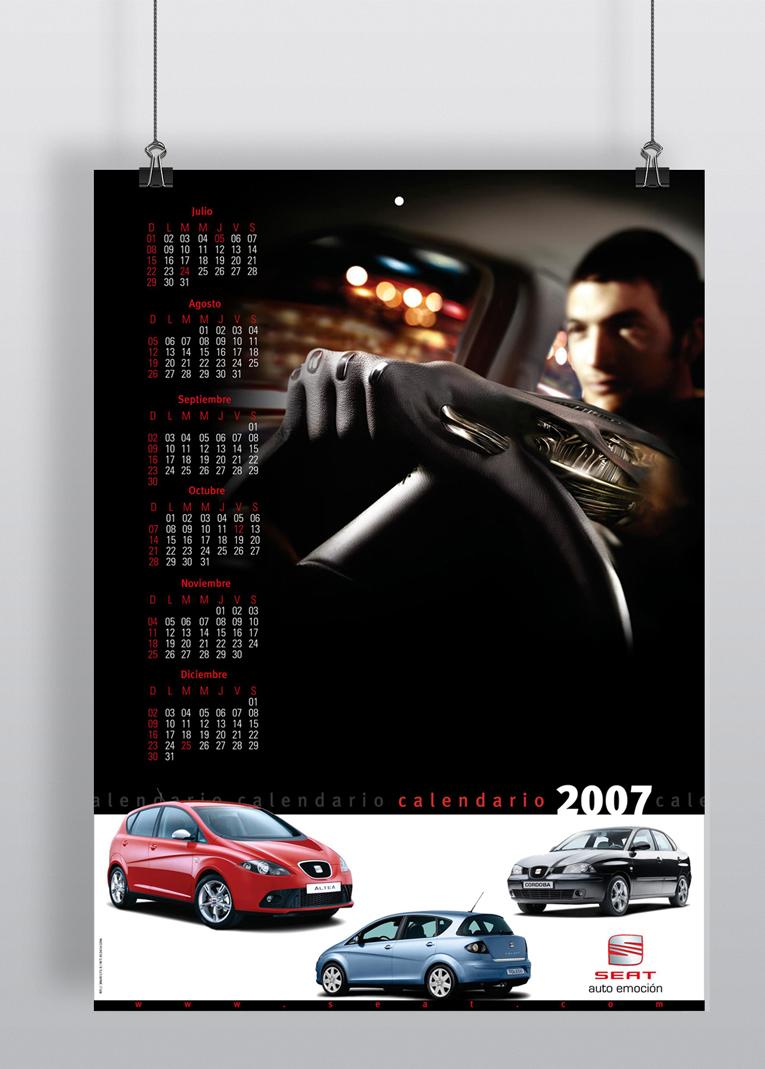 Wall Calendar. SEAT. Venezuela