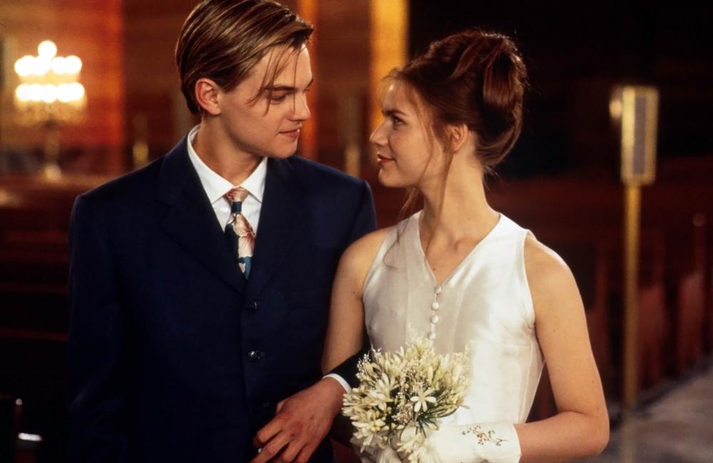 Claire Danes & Leonardo DiCaprio, Romeo and Juliet (1996)