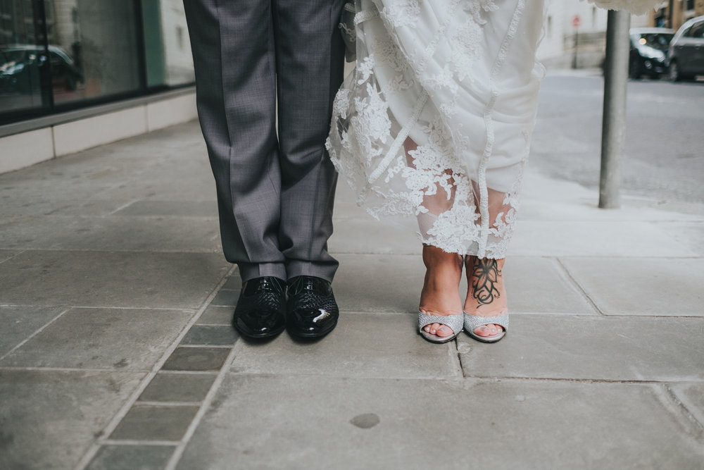 Liz & Rob // King Street Townhouse