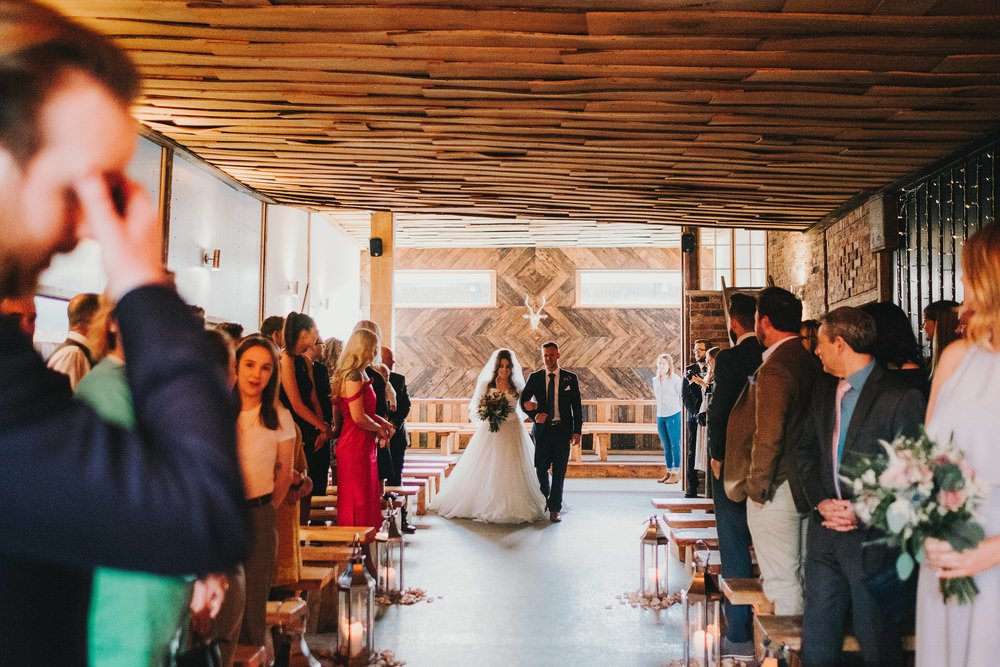 Naomi & Jonathan // Owen House Wedding Barn